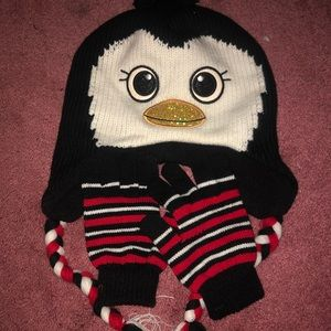 Other - Penguin Hat and Glove Set